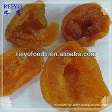 dried peach dices halves
