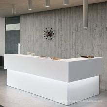 Réception en pierre acrylique réception dans les hôtels
