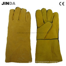 Cowhide Welding Leather Work Gloves (L006)