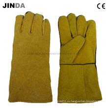 Перчатки из натуральной кожи для сварки (L006)