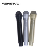 Hot Selling Realistic Looking Mic F ake Microphone Costume Prop