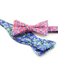 100% Silk Fabric Custom Made Handsome Bow Ties For Men