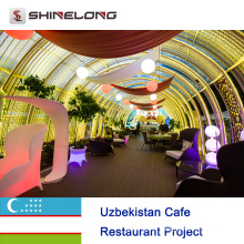 Usbekistan Cafe Restaurant Projekt