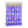Organizador de suspensão traseiro do armazenamento do organizador da sapata da porta da economia do espaço com 30 bolsos