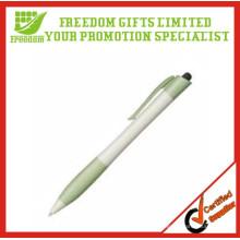Günstige kundenspezifische Großhandel Curvy Kugelschreiber mit Logo Print