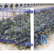 Dekorativer doppelter Schleifen-Gartenzaun