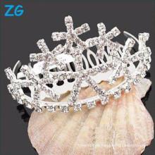 Hochwertige Kristallbrauthaarkämme, preiswerte Haarkämme, Großkristallhaarkämme
