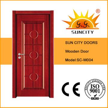 Современный стиль экономического Проектированная деревянная дверь (СК-W004)