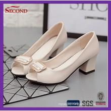 Open Toe Lady Small Heels