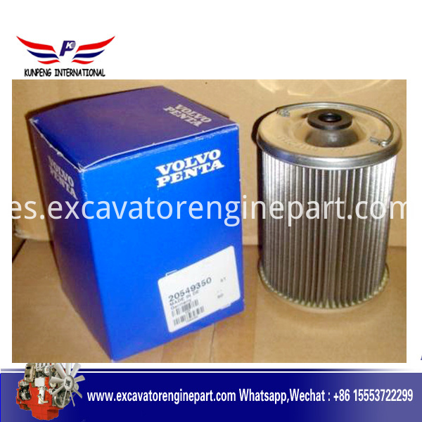 volvo gas oil filter 20549350