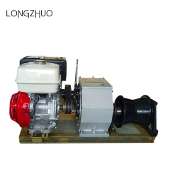 3T 5T 8T Petrol Engine Powered Winch