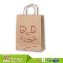 Slogan amigáveis impressos costume de 23 anos da fábrica por atacado de Eco para sacos de papel de compra