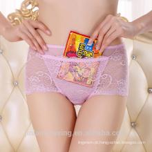 Venda Por Atacado Lace Luxuosa Sexy Transparente Woman Underwear Com Pocket 5189