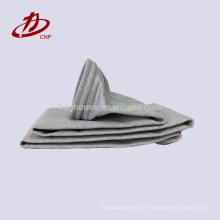 Ciment industriel utilisé sac filtre en fibre de verre