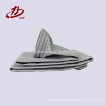 Saco de filtro usado industrial da fibra de vidro do cimento