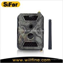 Câmera infravermelha sem fio da caça do PM 12MP 1080P 2.6CM do MMS da G / M para a fiscalização animal