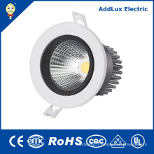CE UL aucun Dimmable COB 16W 18W 20W LED Downlight