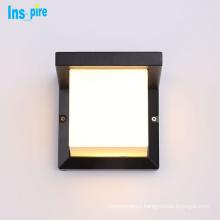 Exterior Cube Aluminum Light Beam Outdoor Wall Light Up Down LED Garden Wall Lamp
