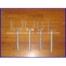 U-Form Boden Anker, Pfosten Anker für Beton