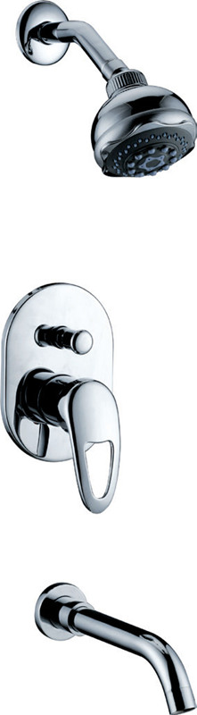 concealed wall mounted shower faucet