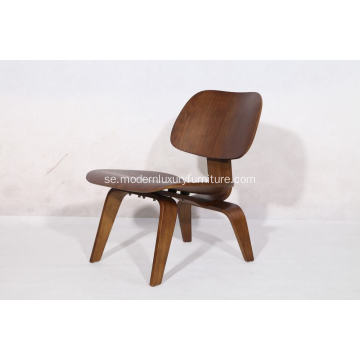 replika Eames gjuten plywood lounge stol