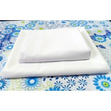 T/c fabric cloth white 110x76 63
