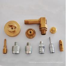 usinagem de peças torneadas máquina de precisão de fábrica para metais