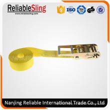75mm X 7.5ton Yellow Endless Ratchet Strap Belt