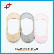Lady Cotton Invisible Socks With Lace High Quality Boat Socks