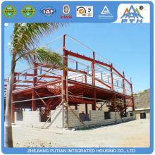 Chine fournisseur École préfabriquée en résistance sismique et résistante au vent