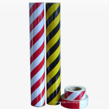 Bright Colored Striking Reflective Traffic Sign Film