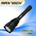 Linterna de seguridad policial de alta potencia Maxtoch SN6X-2S XML2 LED