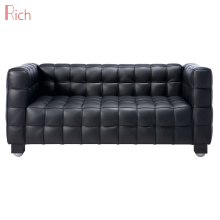 Office Furniture Loveseat Designer Leather Couch  Kubus Office Sofa