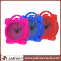 Muitl Color Quartz Silicone Clock