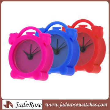 Muitl Color Quartz Silicone Horloge