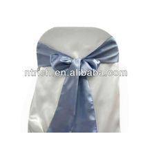 Periwinkle Satin chair sash, chair ties, wraps for wedding banquet hotel