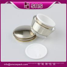 Revêtement en plastique de luxe pour soins de la peau SRS et luxe 15g 30g 50g en acrylique en gros cosmétiques