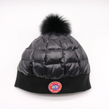 Hochwertige gestrickte Mode maßgeschneiderte Logo Wintermütze
