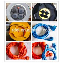 Carrete de cable BS, carrete de cable del Reino Unido, carrete de cable británico H05RN-F H07RN-F