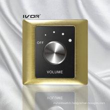 Volume Control Switch in Metal Outline Frame (SK-AP2000VH; SK-AP2000VL)