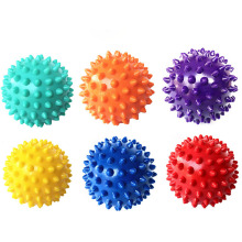 Portable Colorful PVC Spiky Massage Ball Acupoint Massage