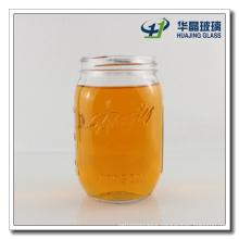 Export Hj833 25oz Round Jam Glass Mason Jar