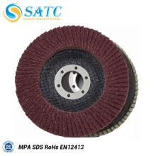 Disque abrasif flexible à disque abrasif T27 / T29 Disque abrasif à base d'oxyde d'aluminium
