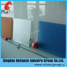 4mm Clear Acid Etched Pattern Glass with Ce Certificate