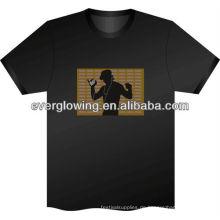 Musik aktiviert LED-Blitz T-Shirt HEIßER Verkauf 2016