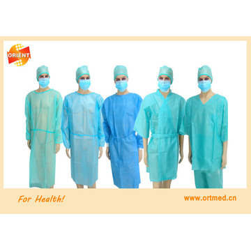 Surgical gown for doctors and visitors