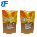Wholesales plastic food packaging stand up bags