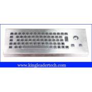 86 keys dust-proof metal industrial computer desktop keyboa