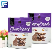 Food grade resealable stand up pouch for chips