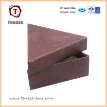 Decorativo hecho a mano Triangle Carboard embalaje cajas de regalo
